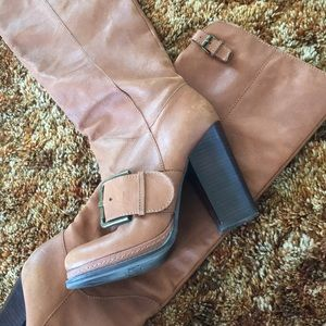 Nine West Vintage America Collection tan boots
